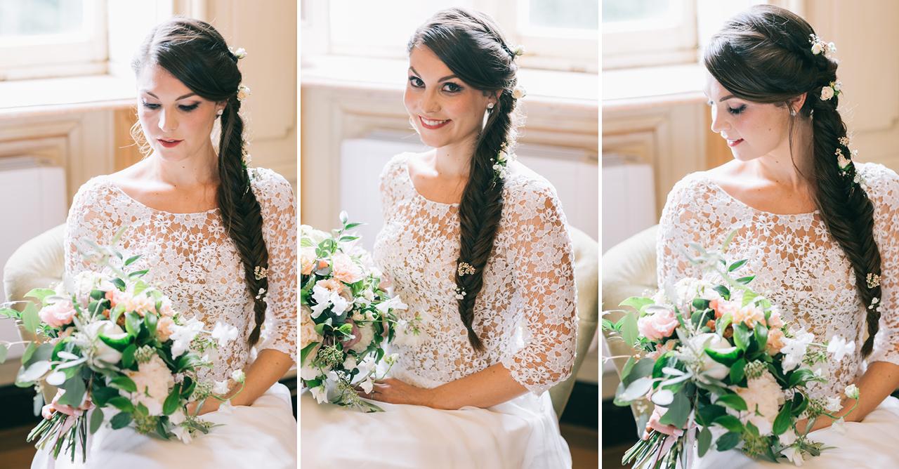Une Magnifique Mariée au Château d'Anjou en Isère photographe de mariage a grenoble et provence