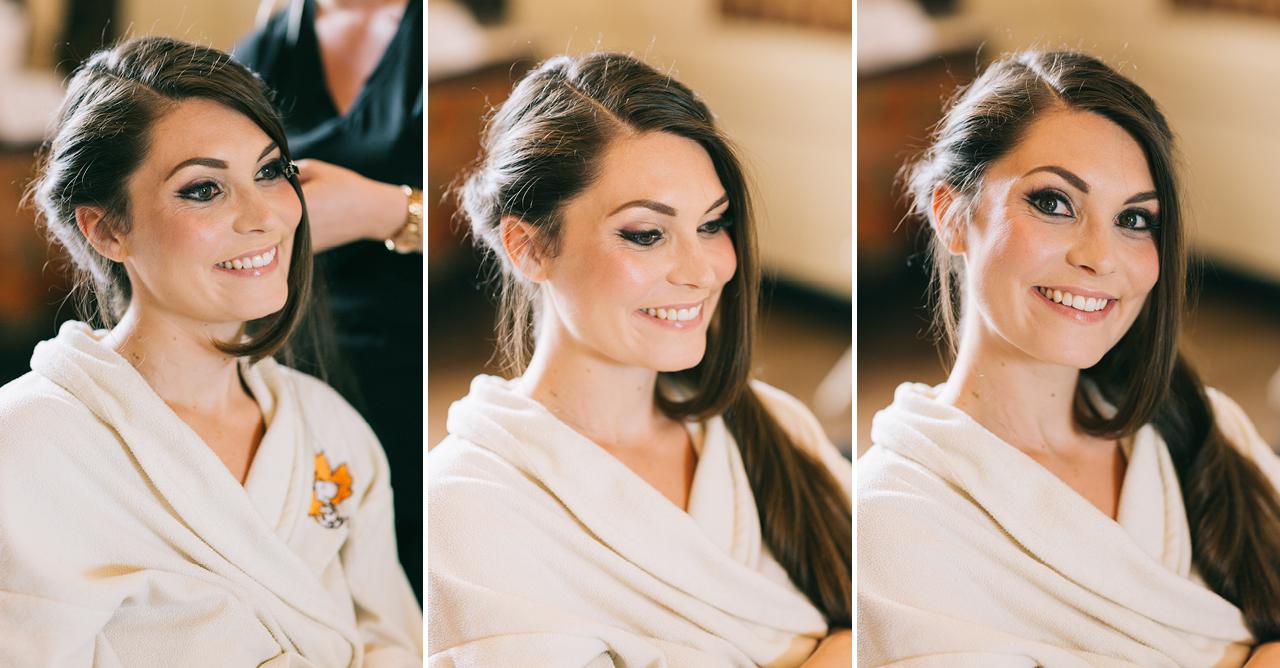 préparatifs de la mariée Mariage au Chateau d'anjou en Isère photographe de mariage a grenoble et provence
