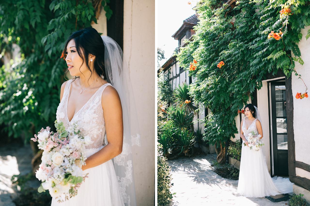 Une Magnifique mariée un Mariage au Domaine de la Butte Ronde Mariage Parisien Yeter Kurt Photography