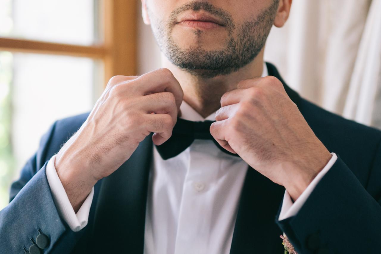 Préparatif de Mariage marié Un mariage au Domaine de la Butte Ronde Mariage Parisien Yeter Kurt Photography