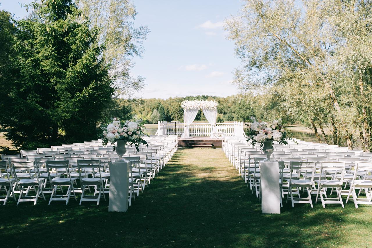 Ceremonie Laique au Domaine de la Butte Ronde Un mariage Elégant Yeter Kurt Photography