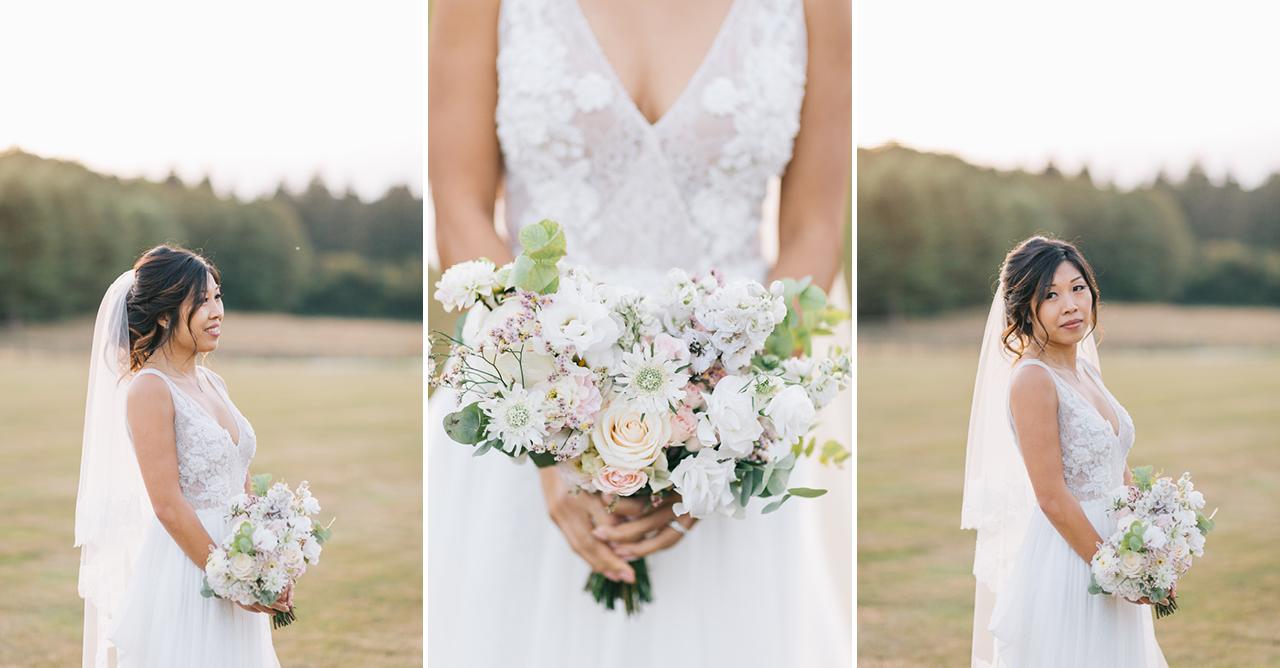Bouquet de Mariée magnifique Mariée Un Mariage au Domaine de la Butte Ronde Yeter Kurt Photography