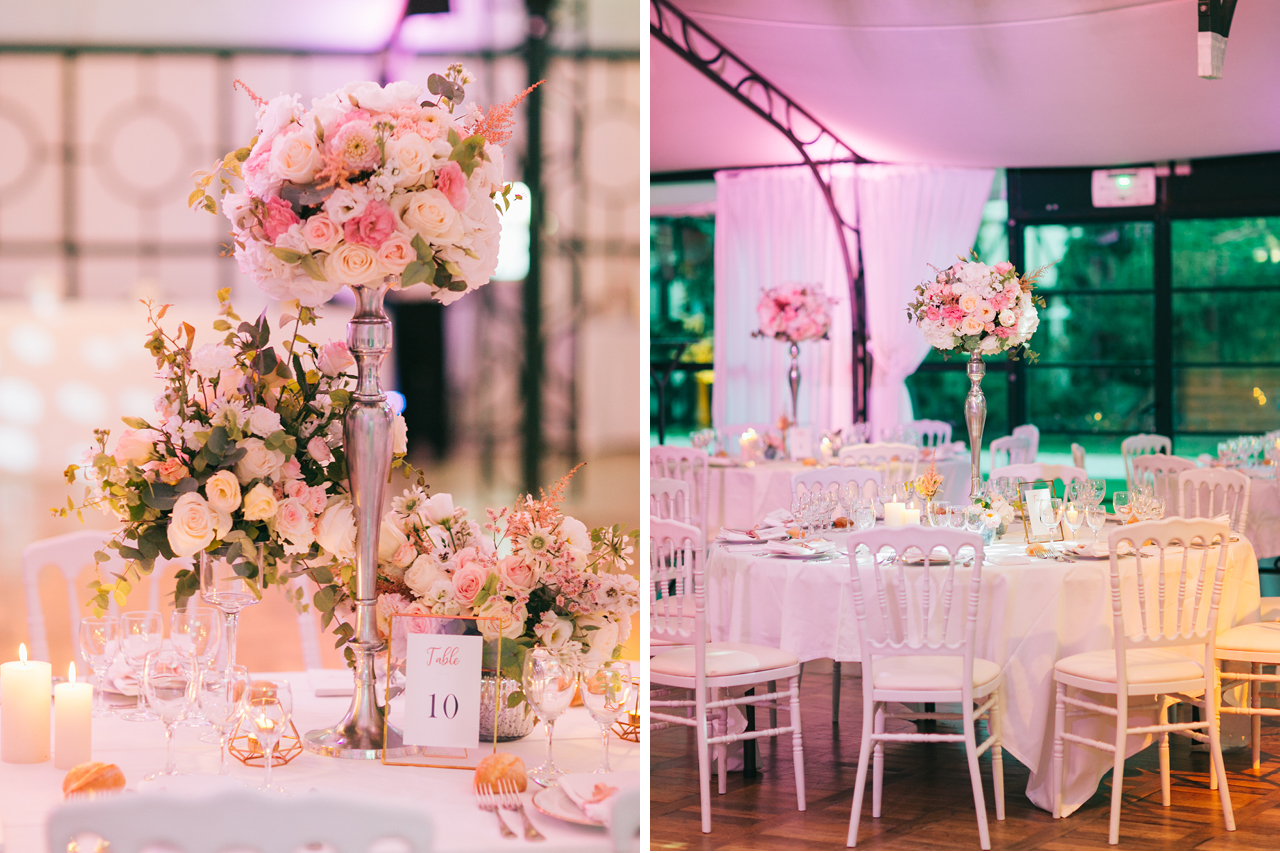 Composition florale mariage au Domaine de la Butte Ronde a Paris Photo de Fleur