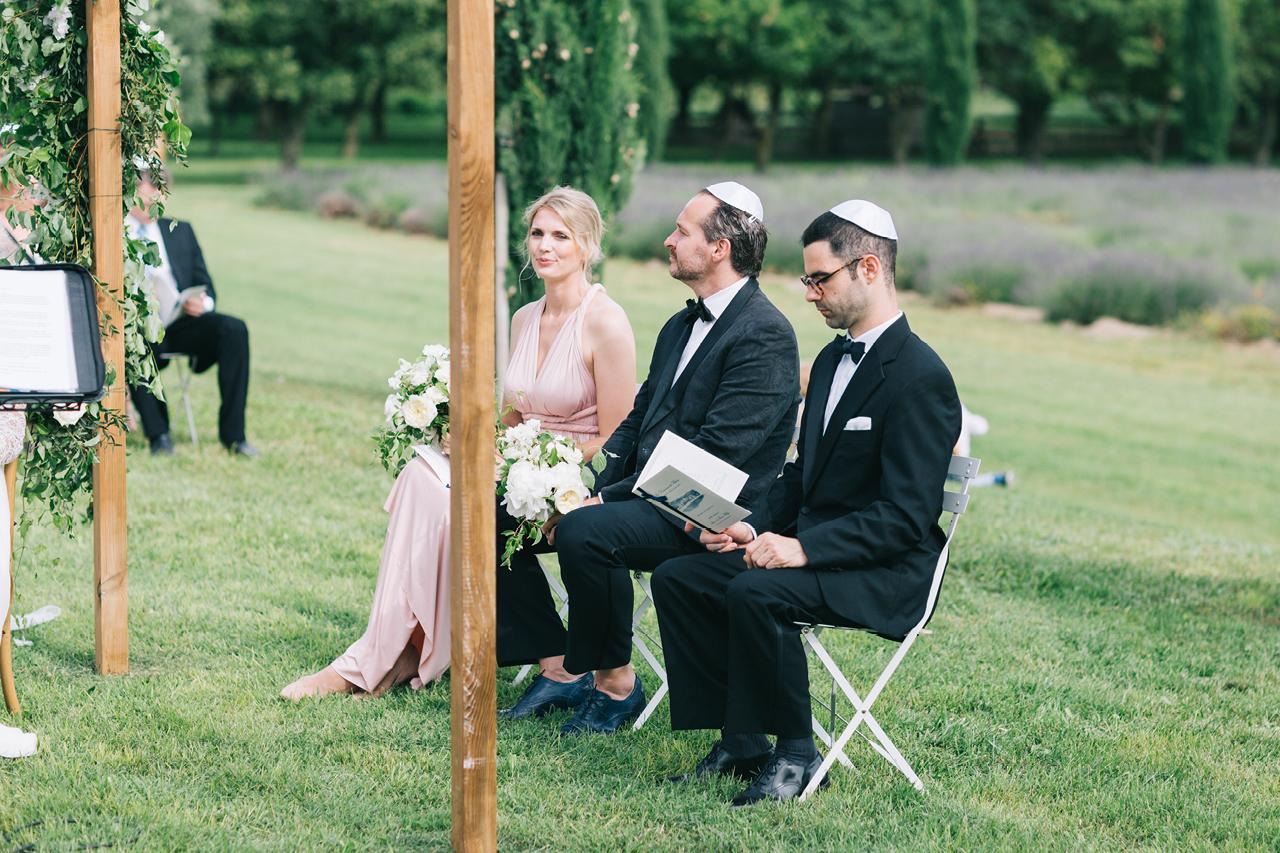 magnifique mariage aux domaines de patras en provence