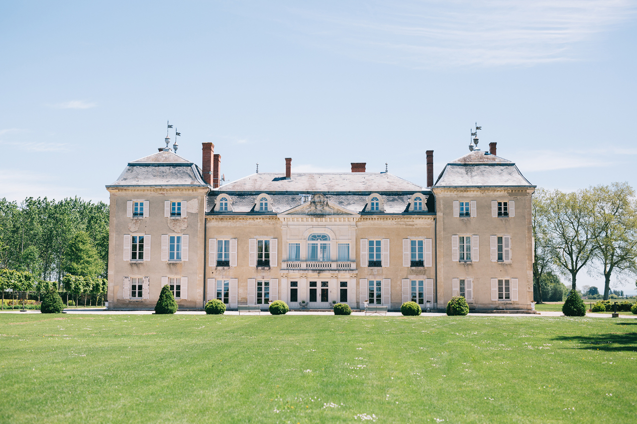photo du château Varennes magnifique lieu en Bourgogne