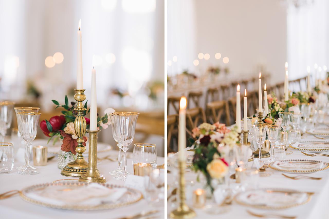 décoration mariage château varennes fleurs florale table
