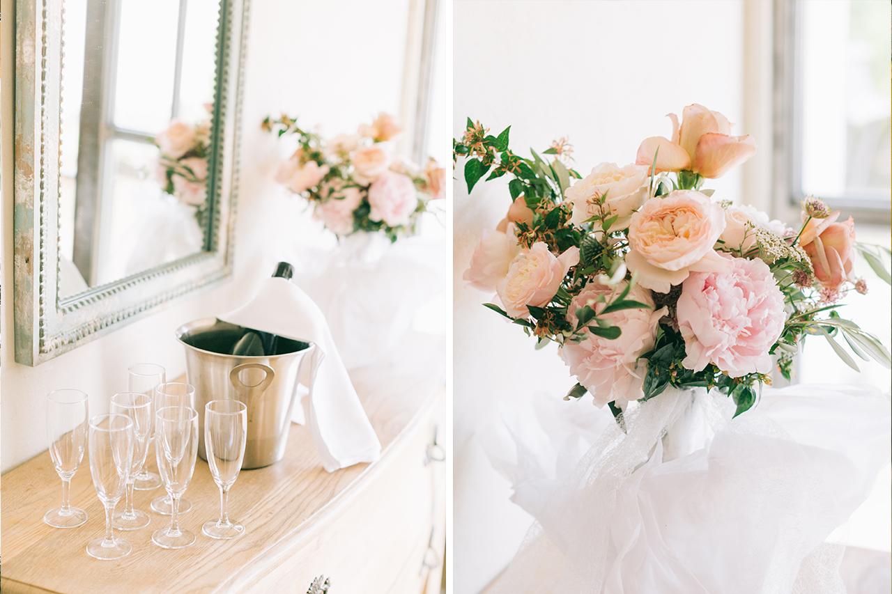 Bouquet de fleurs signée fleurs de fée fleuriste aux domaine de patras