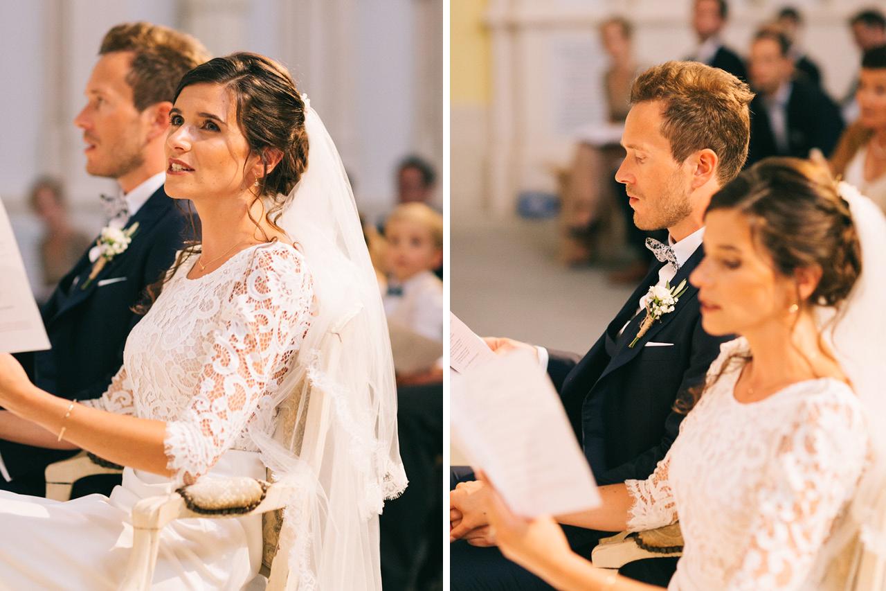 Mariage religieux au Sanctuaire saint joseph de Roussas dans la Drôme Provençale