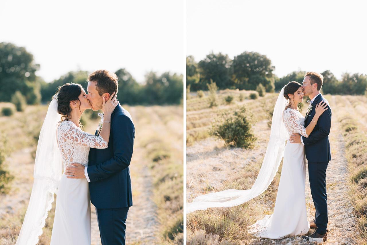 Photo de Couple dans la Drome Provencale au Domaine de Sarson