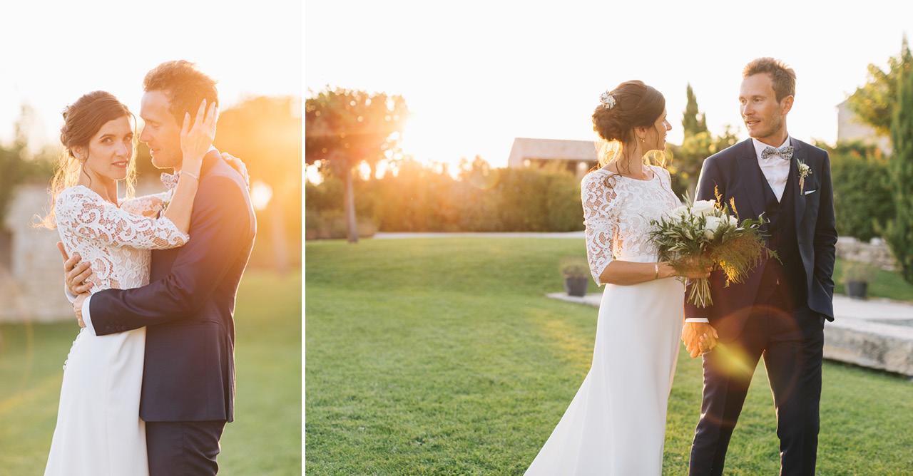 Domaine de Sarson au coucher du soleil magnifique photo de couple au coucher du soleil photo couple