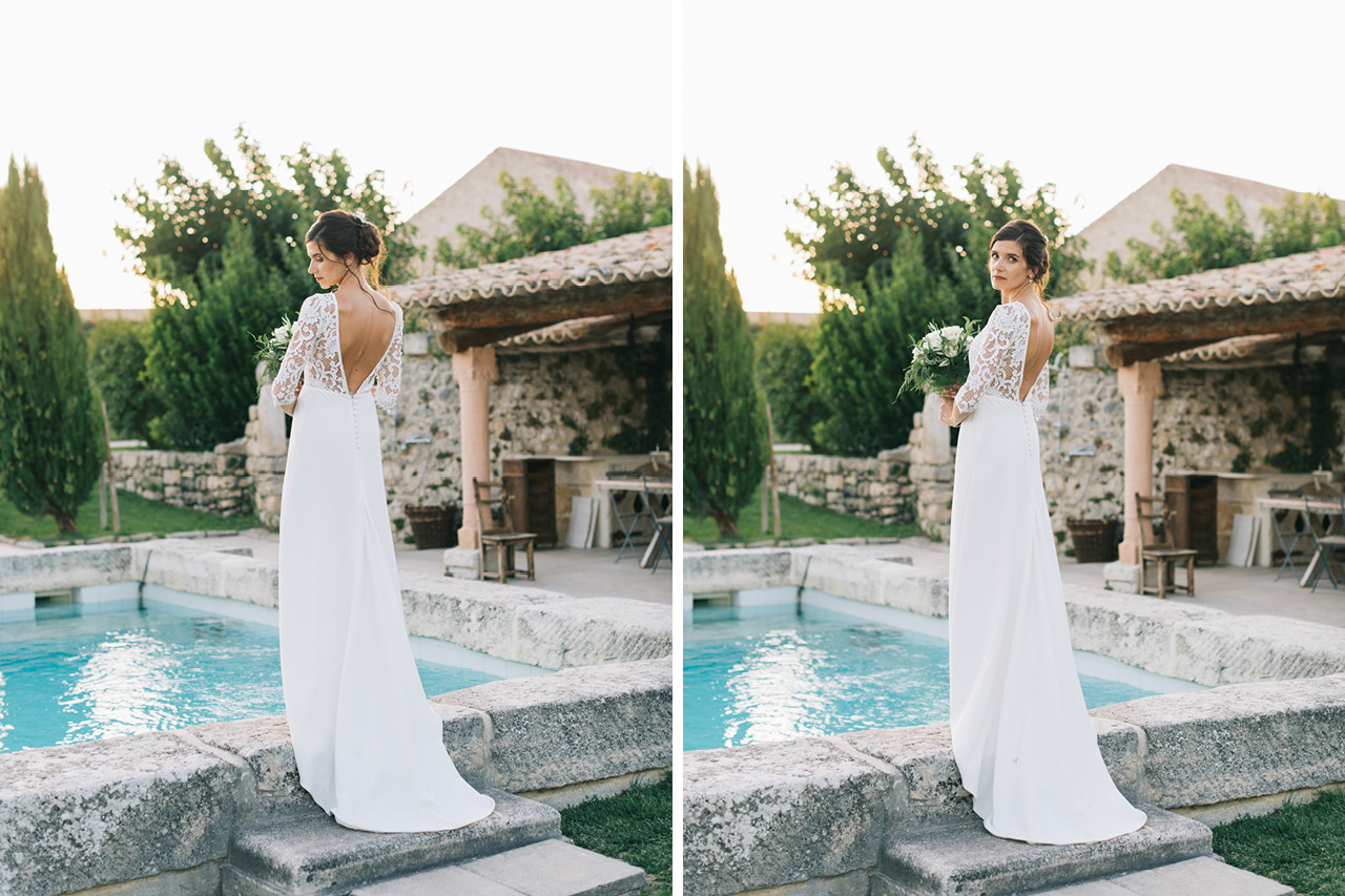 Robe de mariée Victoire Vermeulen mariage au domaine de sarson