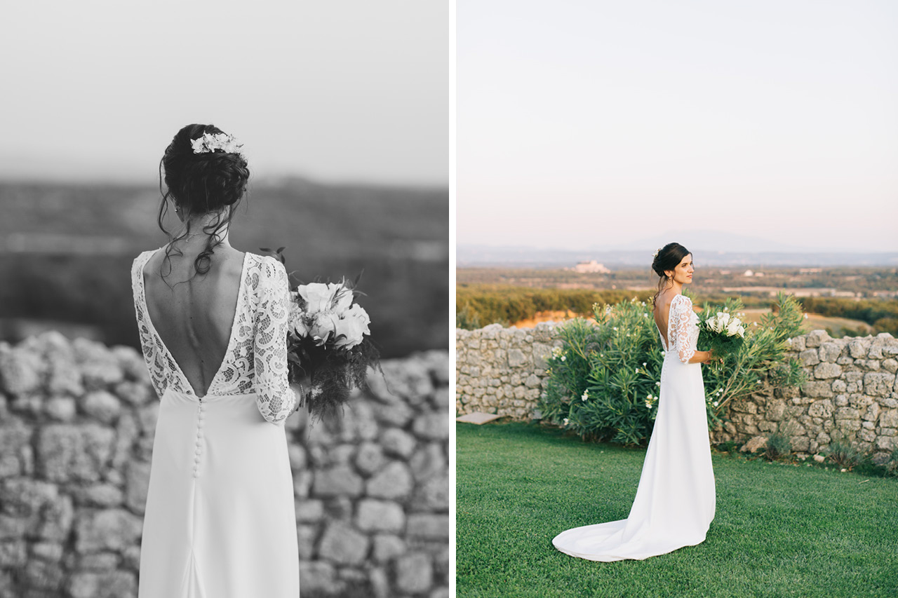 Domaine de Sarson Robe de mariée Victoire Vermeulen