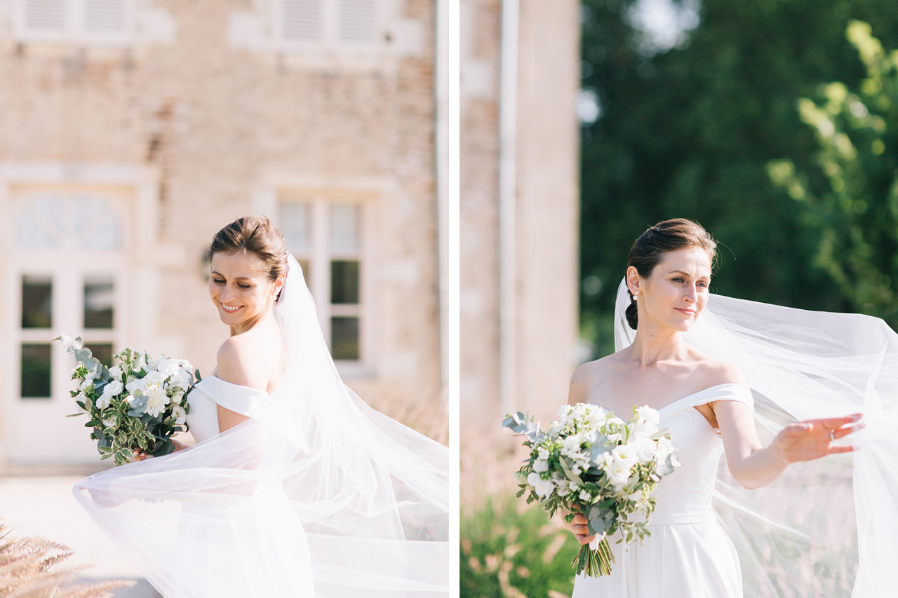 Bride Finesse by Neta Dover Wedding Chateau de Varennes