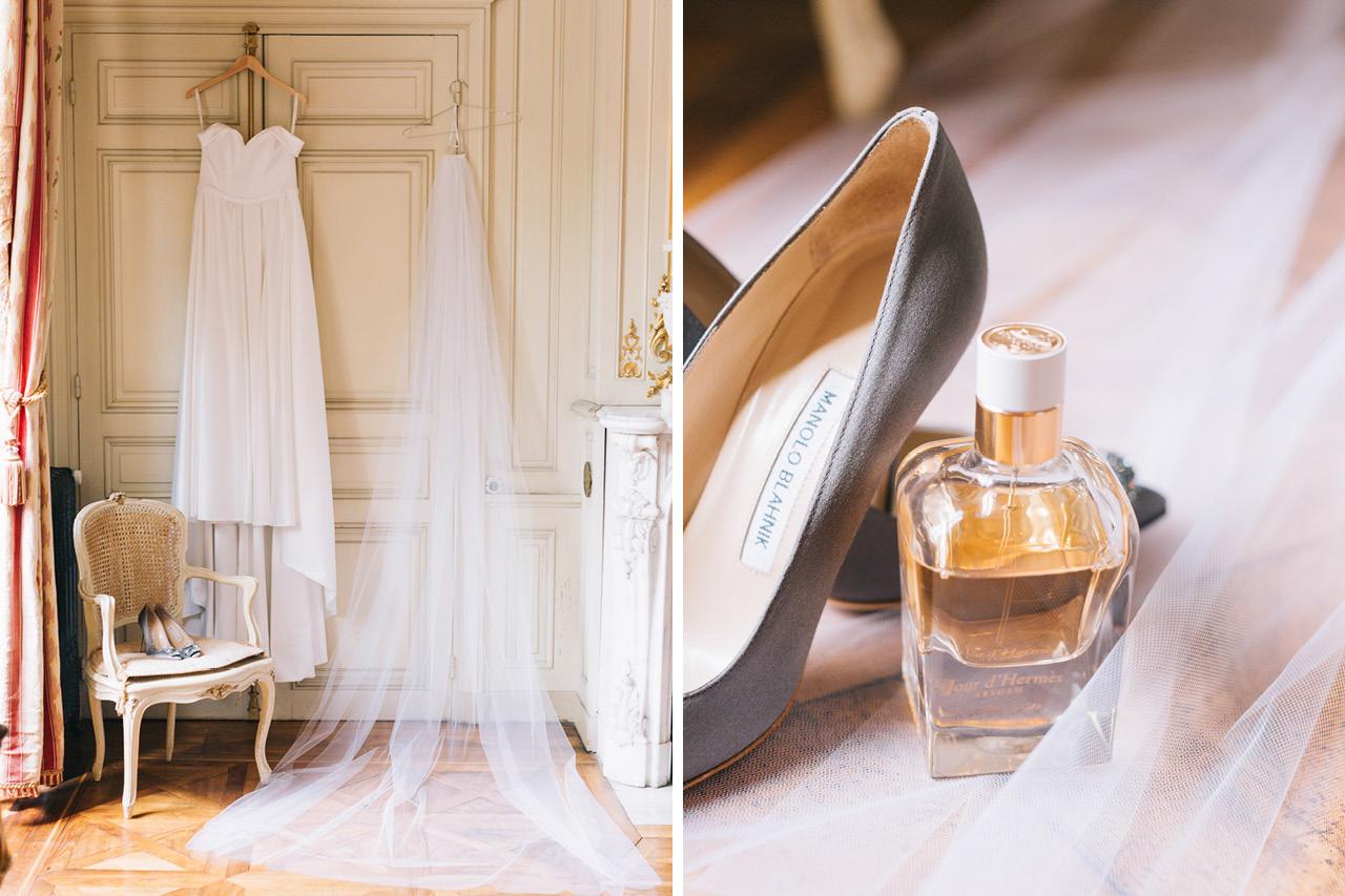 Bride FINESSE by Neta Dover Wedding Chateau de Varennes en Bourgogne