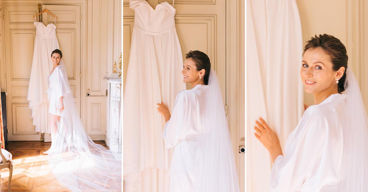 Bride Finesse by Neta Dover Robe de Mariée FINESSE by Neta Dover Chateau de Varennes