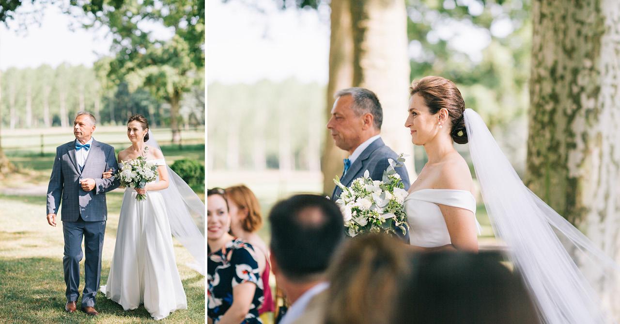 Mariage au Chateau de Varennes en Bourgogne