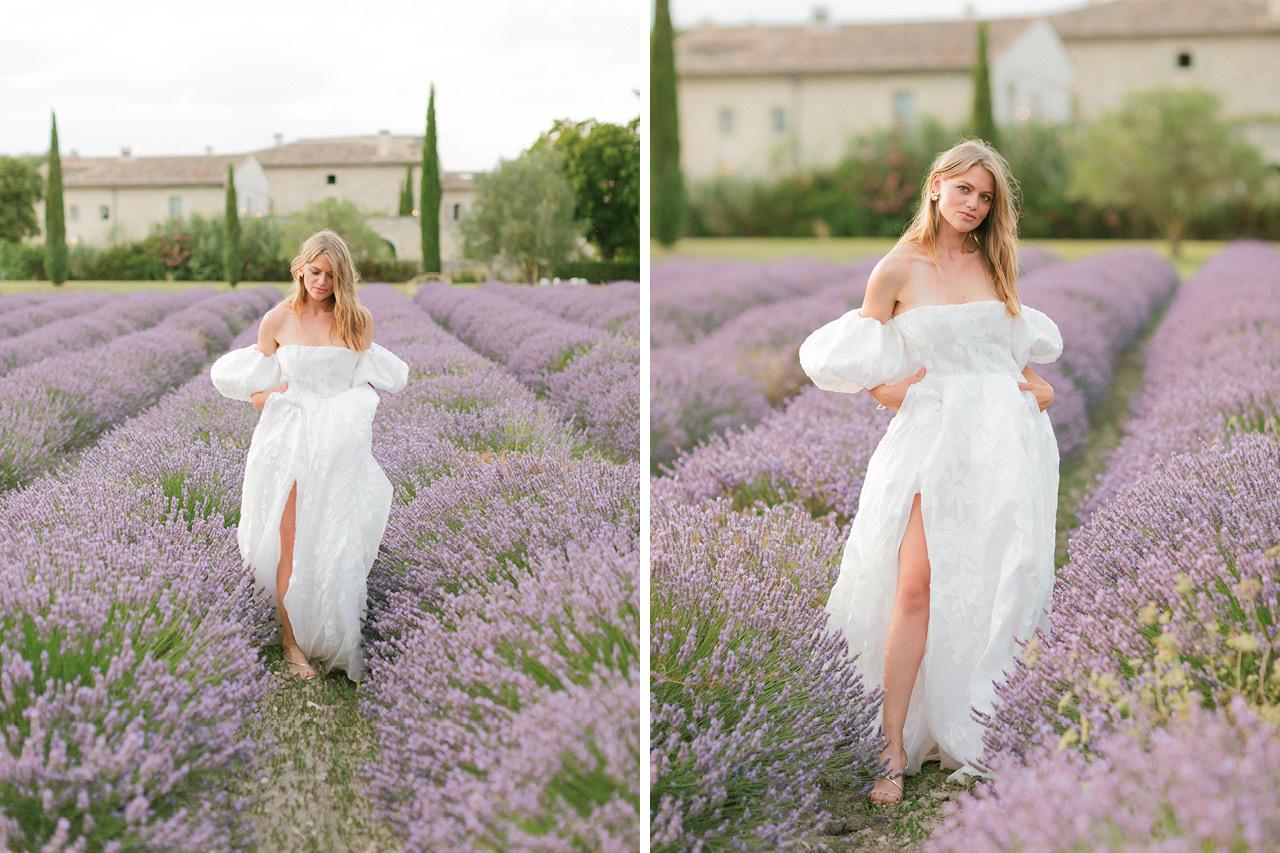 Magnifique Robe Rime Arodaky, Les Domaine de Patras, Greg Finck, Photographe Mariage Provence