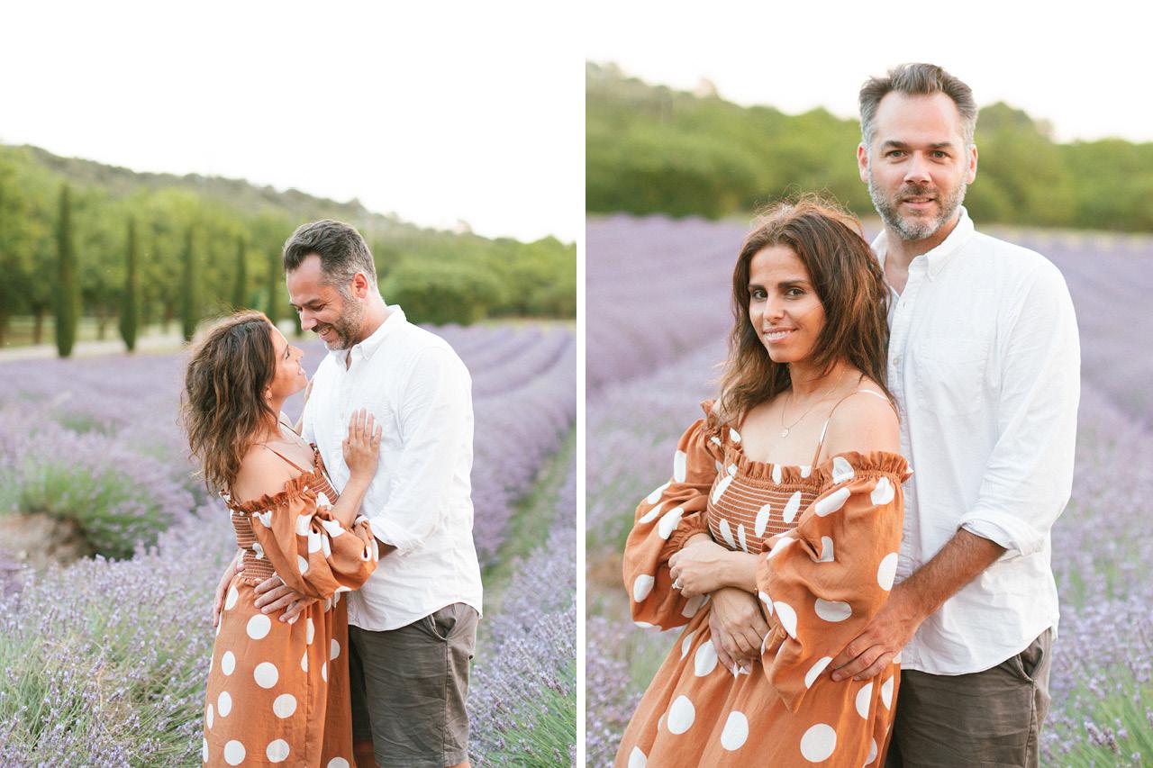 Séance photo Couple Greg Finck et Rime Arodaky, Les Domaines de Patras, Mariage Drome Provençale