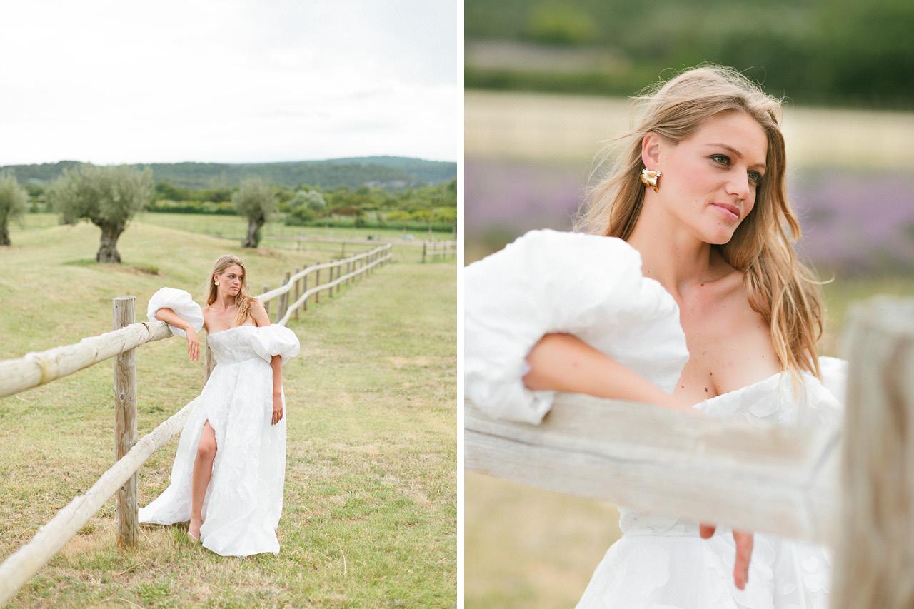 Robe de mariée Rime Arodaky, Dress Rime Arodaky, Shooting esprit mariage Greg Finck, Les Domaines de Patras dans le Drôme Provençale
